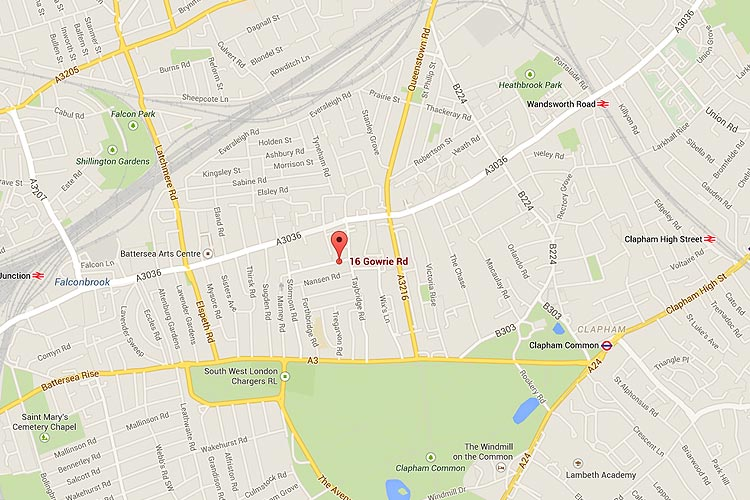 See Clapham Trusted Local Locksmith location on Google maps